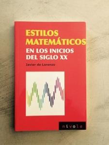 Imagen libro Estilos Matemáticos
